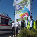 آمادگی فوریت های پزشکی اسلام آبادغرب برای ارائه خدمات به مسافران نوروزی