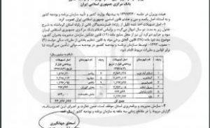 ابلاغ مصوبه امهال وامهای زلزلهزدگان استان کرمانشاه