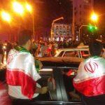 مردم کرمانشاه پیروزی تیم ملی فوتبال کشورمان را جشن گرفتند