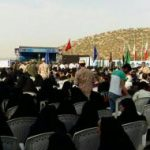 مراسم گرامیداشت عملیات غرورآفرین مرصاد برگزار شد + تصاویر