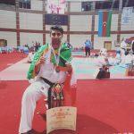 کسب مقام سوم مسابقات کاراته جهان  توسط جوان اسلام آباد غربی