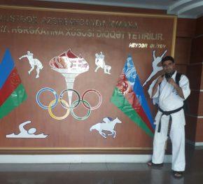 محمد جواد خالدی پور- ورزشکار، کاراته کار