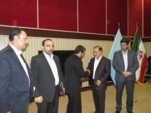 آئین تکریم ومعارفه رئیس دادگستری و دادستان شهرستان گیلانغرب برگزار شد + تصاویر