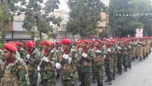 برگزاری رژه حماسی ۳۱شهریور ماه دراسلام آبادغرب+تصاویر