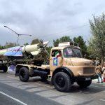 رژه نیروهای مسلح در کرمانشاه برگزار شد