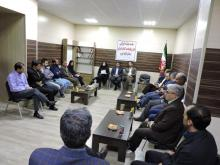 جلسه هیئت اجرایی طرح پایتخت کتاب ایران در اسلام آباد غرب برگزار شد