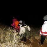 نجات ۶ کوهنورد گم شده در ارتفاعات پرآو