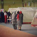اجرای طرح کاروان سلامت جمعیت هلال احمر در مناطق زلزله زده کرمانشاه