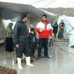 هلال احمر به ۱۷۹ خانوار زلزله زده امدادرسانی کرد