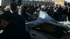 حادثه رانندگی امروز جان یک نفر را در کنگاور گرفت!