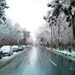 برف در ارتفاعات ۱۰ استان می بارد