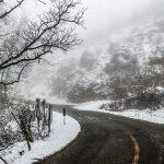 پایان سال ۹۷ با بارش باران و برف / آغاز سال نو؛ طوفانی