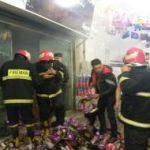 حریق بازار اسلامی کرمانشاه اطفا شد/ عملکرد به موقع آتش نشانان