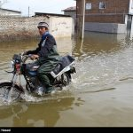طغیان رودخانه گاماسیاب در هرسین/روستاهای حاشیه رودخانه تخلیه شدند