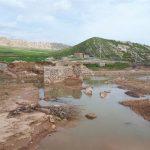 سیلاب بیش از ۳۰ درصد بخش کشاورزی سنقروکلیایی را نابود کرد