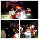 رعد و برق در روستای دزاور از توابع بخش مرزی نوسود یک خانه را به آتش کشید