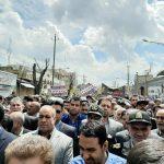 مردم کرمانشاه اقدام آمریکا علیه سپاه را محکوم کردند