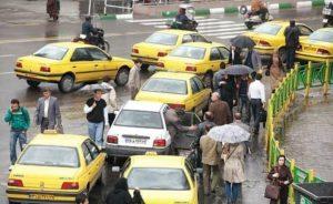 افزایش ۲۳ درصدی کرایه تاکسی در کرمانشاه
