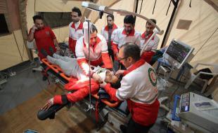 وقوع بیش از ۱۴۳۰ حادثه در کرمانشاه /۲۲۷۰ تیم عملیاتی خدماترسانی کردند