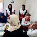 تلقیح واکسنمننژیت زائران حج تمتع ۹۸ استان توسط جمعیت هلال احمر