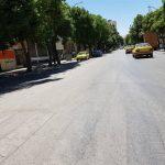 فقدان یکی از عوامل پیشگیری از تصادفات در کرمانشاه؛ وقتی خیابانها فاقد خطکشی طولی است