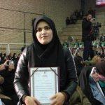 گفتگو با خانم محمدی دانشجوی کارآفرین کشوری مرکز علمی کاربردی جهادکشاورزی کرمانشاه