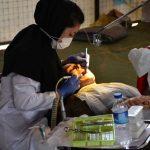 بهرمندی بیش از ۶۰۰ نفر از مردم مناطق زلزله زده شهرستان ثلاث باباجانی از خدمات رایگان دندانپزشکی کاروان سلامت استان اصفهان