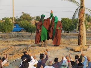 بازسازی واقعه غدیر خم در اسلام آبادغرب+تصاویر