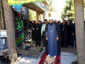 اقامه نماز باشکوه ظهر عاشورا در اسلام آبادغرب+تصاویر