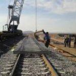 پیشرفت ۵۵ درصد زیرسازی ریلی «کرمانشاه ـ اسلام آباد غرب»