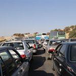 ترافیک در محور اسلام آبادغرب تا بیستون نیمه سنگین است
