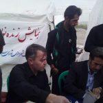 همایش زنده نویسی خوشنویسی در موکب شهید حججی اسلام آبادغرب+تصاویر