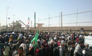 تردد ۱۴۰ هزار زائر اربعین از مرز خسروی