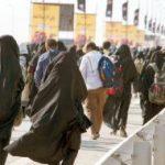 ورود بیش از ۷۰ هزار زائر از مرز خسروی به کشور