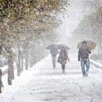 پیشبینی بارش برف در برخی نقاط کرمانشاه /کاهش ۱۰ درجهای دما