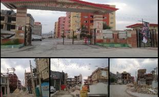 خانههای نیمهکاره؛ زخم باز زلزله/ دردسر ساکنان شهرهای «فلزی»