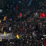 خروش پایتخت تهران در مراسم تشییع سردار دلها
