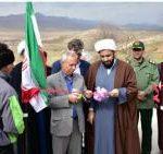 افتتاح و کلنگ زنی ۳ پروژه عمرانی و کشاورزی بخش حمیل از توابع اسلام آبادغرب