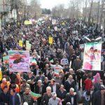 حضور باشکوه مردم اسلام آبادغرب در راهپیمایی یوم الله ۲۲ بهمن