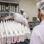 صدور مجوز موقت فعالیت برای ۱۰ کارخانه تولید مواد ضدعفونی در کرمانشاه