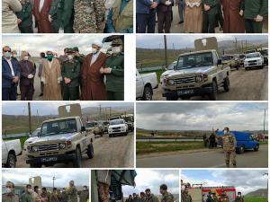رزمایش دفاع بیولوژیکی و پاکسازی محیطی سطح شهر اسلام آباد غرب برعلیه ویروس کرونا+تصاویر