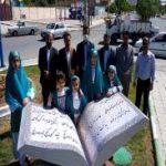 نصب اولین المان کتاب در میدان فردوسی اسلام آبادغرب+تصاویر
