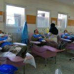 اهدای خون جمعی از حقوقدانان بسیجی استان کرمانشاه به مناسبت هفته قوه قضاییه