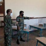 ضدعفونی مدارس اسلام آباد غرب توسط تیپ ۱۸۱ زرهی نیروی زمینی ارتش