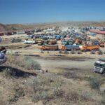 داستان تکراری صفوف طولانی کامیونداران در مرزهای استان کرمانشاه/ دپوی کامیونها این بار به شیخصله رسید