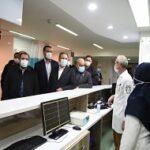 افتتاح بیمارستان ۱۲۶ تخت خوابی اسلام آباد غرب