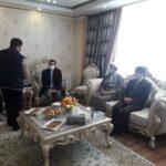 دیدار مدیر و اعضای بسیج حقوق دانان بسیجی استان با خانواده شهید سلیم قنبری