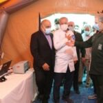 بهره برداری پیشرفتهترین و مجهزترین بیمارستان تخصصی سیار ویژه بیماران حاد تنفسی در کرمانشاه