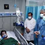 وزیر بهداشت از مجتمع درمانی امام رضا (ع) کرمانشاه بازدید کرد